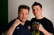 GO GO DANNY O!  Boxer Danny O'Connor, DKM and Fans, and Claddagh Fund join hands for friendship, love and loyalty