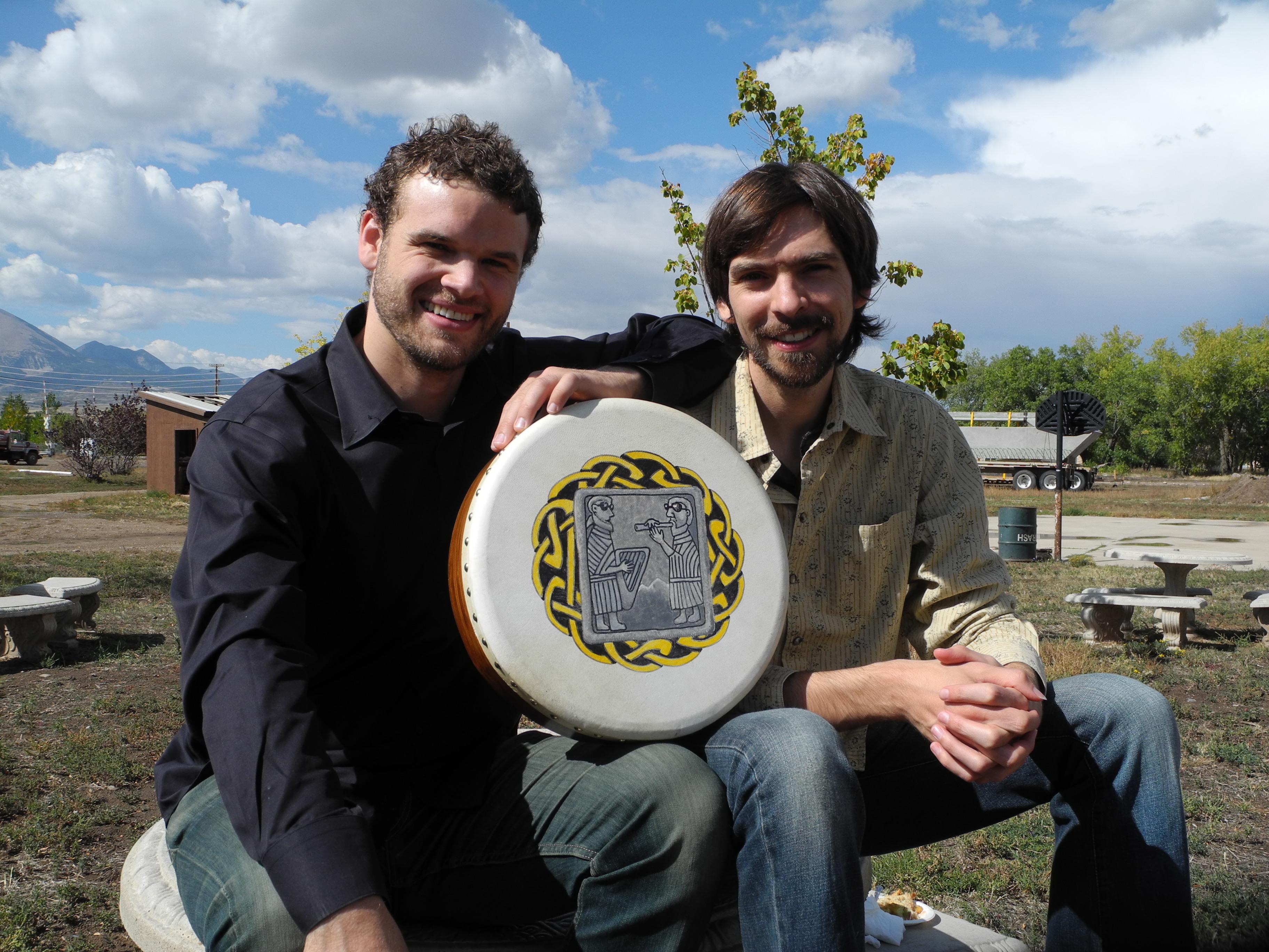 Adam and Jon Spanish Peaks 2012 Rodger Hara