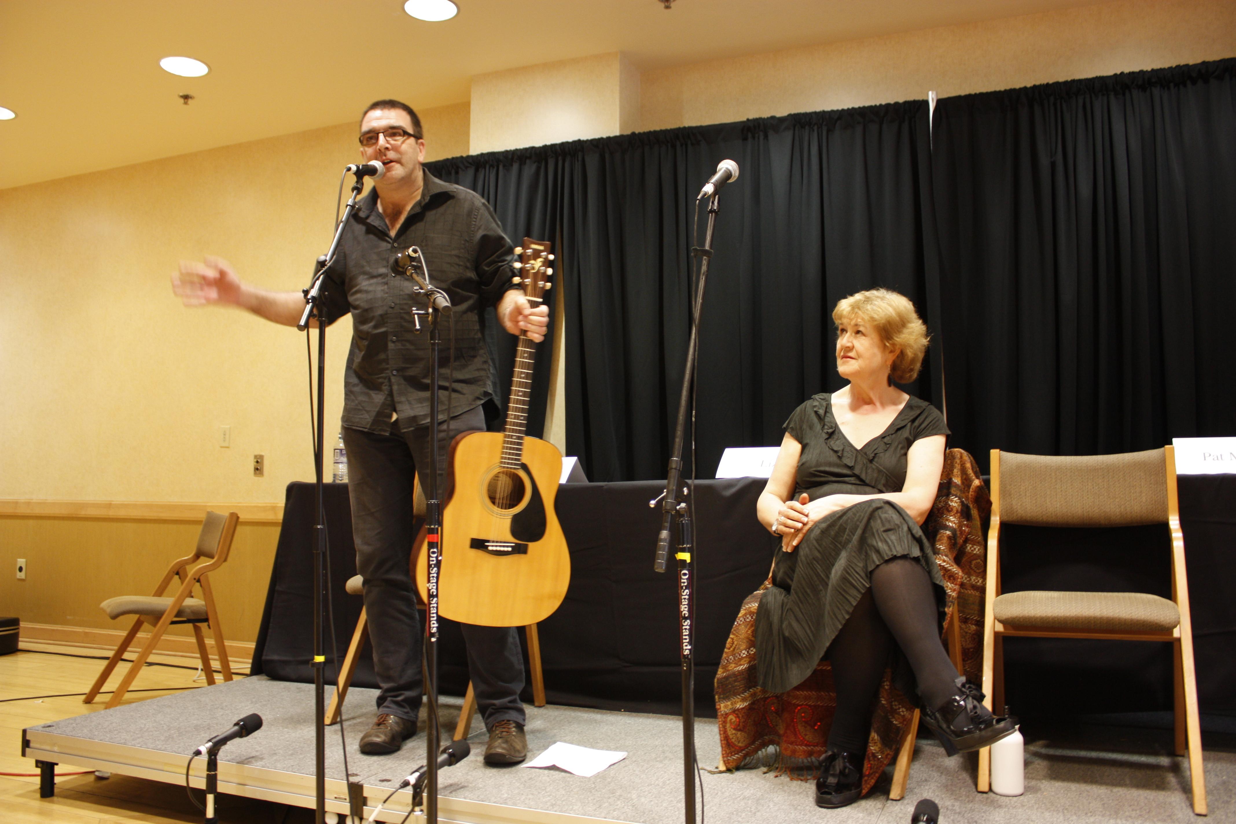 Feargal Lynn and Lynn Weir