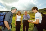 Tourism walking Mourne Mountains County Down