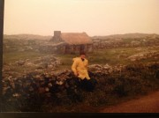"Fern in Ballynahinch, 1985.  ""This is when I truly fell in love with Ireland regardless of the rain."""