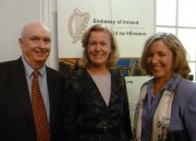 December 13 CC Ambassador Anne Anderson w-Tom Burke and Muara Clare