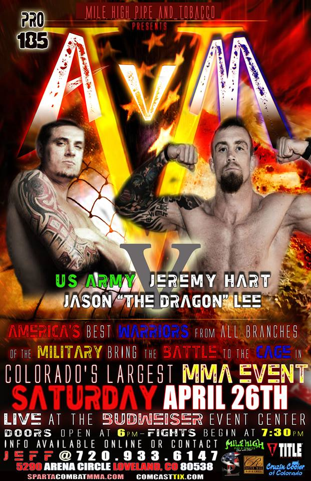 April 14 CC MMA 3 Jason Lee poster
