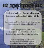 Montana Irish Language class 2014