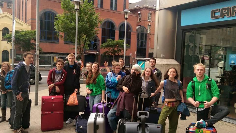 Belfast Circus youth Colorado bound