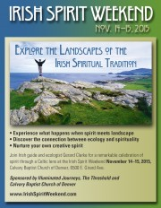 Denver Weekend to focus on Irish spiritual tradition and landscape NOV 14-15